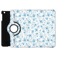 Floral Pattern Apple Ipad Mini Flip 360 Case by ValentinaDesign