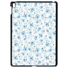 Floral pattern Apple iPad Pro 9.7   Black Seamless Case