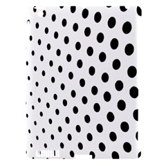 Polka Dot Black Circle Apple Ipad 3/4 Hardshell Case (compatible With Smart Cover) by Mariart