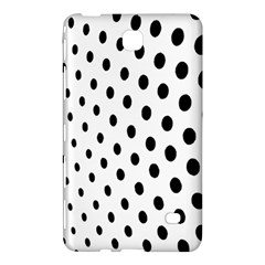 Polka Dot Black Circle Samsung Galaxy Tab 4 (8 ) Hardshell Case  by Mariart