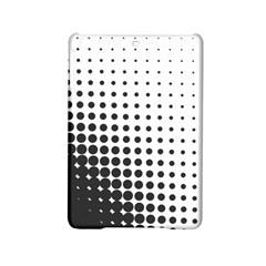Comic Dots Polka Black White Ipad Mini 2 Hardshell Cases by Mariart