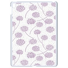 Purple Tulip Flower Floral Polkadot Polka Spot Apple Ipad Pro 9 7   White Seamless Case by Mariart