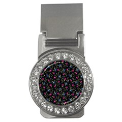 Floral pattern Money Clips (CZ)  by ValentinaDesign