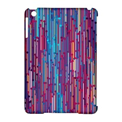 Vertical Behance Line Polka Dot Blue Green Purple Red Blue Black Apple Ipad Mini Hardshell Case (compatible With Smart Cover) by Mariart