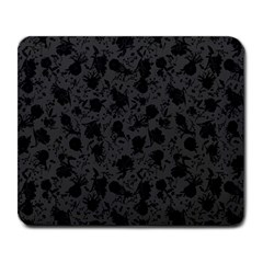 Floral Pattern Large Mousepads by ValentinaDesign