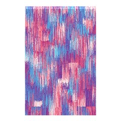 Vertical Behance Line Polka Dot Blue Green Purple Red Blue Small Shower Curtain 48  X 72  (small)  by Mariart