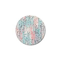 Vertical Behance Line Polka Dot Grey Pink Golf Ball Marker by Mariart