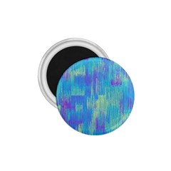 Vertical Behance Line Polka Dot Purple Green Blue 1.75  Magnets by Mariart