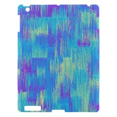 Vertical Behance Line Polka Dot Purple Green Blue Apple Ipad 3/4 Hardshell Case by Mariart