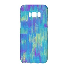 Vertical Behance Line Polka Dot Purple Green Blue Samsung Galaxy S8 Hardshell Case