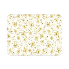 Floral Pattern Double Sided Flano Blanket (mini)  by ValentinaDesign
