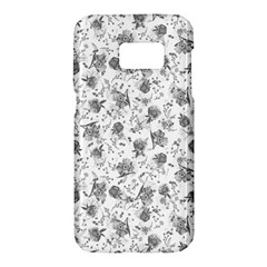 Floral Pattern Samsung Galaxy S7 Hardshell Case  by ValentinaDesign