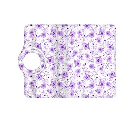 Floral Pattern Kindle Fire Hd (2013) Flip 360 Case by ValentinaDesign