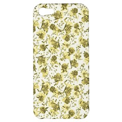 Floral Pattern Apple Iphone 5 Hardshell Case by ValentinaDesign