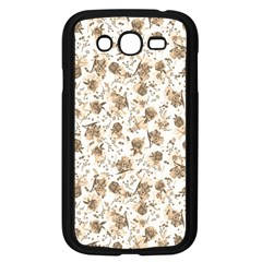 Floral Pattern Samsung Galaxy Grand Duos I9082 Case (black) by ValentinaDesign
