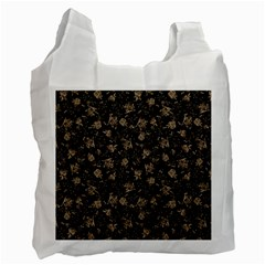 Floral Pattern Recycle Bag (one Side) by ValentinaDesign