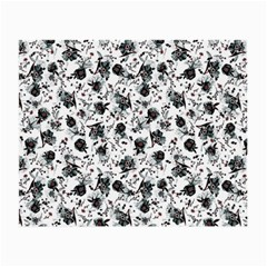 Floral Pattern Small Glasses Cloth (2 Side) by ValentinaDesign