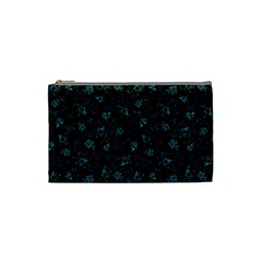 Floral Pattern Cosmetic Bag (small)  by ValentinaDesign