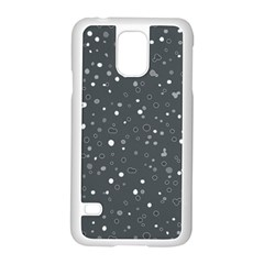 Dots Pattern Samsung Galaxy S5 Case (white) by ValentinaDesign