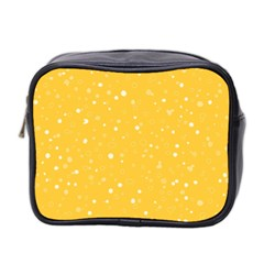 Dots Pattern Mini Toiletries Bag 2 Side by ValentinaDesign