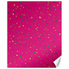 Dots Pattern Canvas 16  X 20   by ValentinaDesign