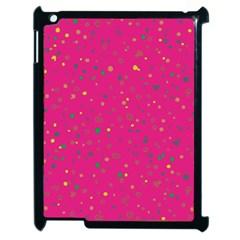 Dots Pattern Apple Ipad 2 Case (black) by ValentinaDesign