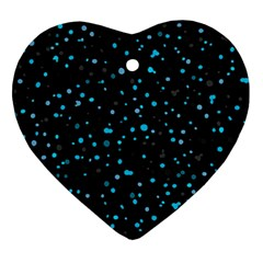 Dots Pattern Ornament (heart) by ValentinaDesign