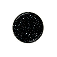 Dots Pattern Hat Clip Ball Marker by ValentinaDesign