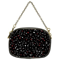 Dots Pattern Chain Purses (one Side)  by ValentinaDesign