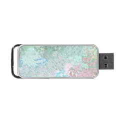 Pastel Garden Portable Usb Flash (two Sides) by theunrulyartist