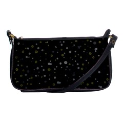 Dots Pattern Shoulder Clutch Bags by ValentinaDesign