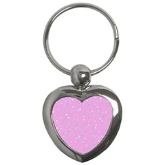 Dots Pattern Key Chains (heart)  by ValentinaDesign