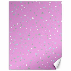 Dots Pattern Canvas 12  X 16   by ValentinaDesign