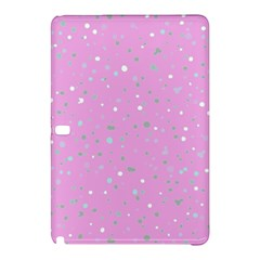 Dots Pattern Samsung Galaxy Tab Pro 12 2 Hardshell Case by ValentinaDesign