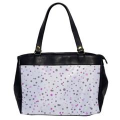 Dots Pattern Office Handbags by ValentinaDesign