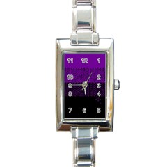 Abstract Art  Rectangle Italian Charm Watch by ValentinaDesign