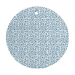 Abstract art  Round Ornament (Two Sides) by ValentinaDesign
