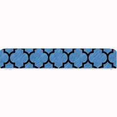 Tile1 Black Marble & Blue Colored Pencil (r) Small Bar Mat by trendistuff
