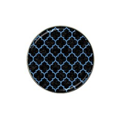 Tile1 Black Marble & Blue Colored Pencil Hat Clip Ball Marker (4 Pack) by trendistuff
