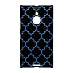 Tile1 Black Marble & Blue Colored Pencil Nokia Lumia 1520 Hardshell Case by trendistuff