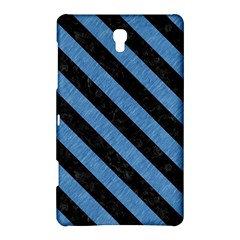 Stripes3 Black Marble & Blue Colored Pencil (r) Samsung Galaxy Tab S (8 4 ) Hardshell Case  by trendistuff