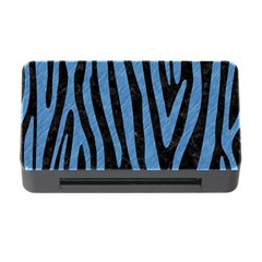 Skin4 Black Marble & Blue Colored Pencil (r) Memory Card Reader With Cf by trendistuff