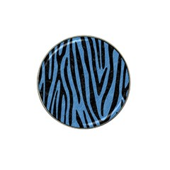 Skin4 Black Marble & Blue Colored Pencil Hat Clip Ball Marker (10 Pack) by trendistuff