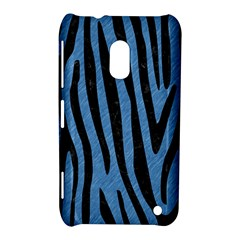 Skin4 Black Marble & Blue Colored Pencil Nokia Lumia 620 Hardshell Case by trendistuff