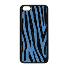 Skin4 Black Marble & Blue Colored Pencil Apple Iphone 5c Seamless Case (black) by trendistuff