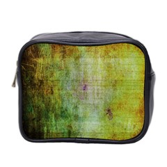 Grunge Texture               Mini Toiletries Bag (two Sides) by LalyLauraFLM