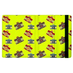 Camera Pattern          Kindle Fire (1st Gen) Flip Case by LalyLauraFLM