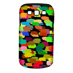 Colorful paint on a black background           Samsung Galaxy S II i9100 Hardshell Case (PC+Silicone) by LalyLauraFLM