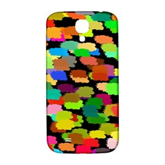 Colorful paint on a black background           Samsung Note 2 N7100 Hardshell Back Case by LalyLauraFLM