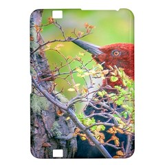 Woodpecker At Forest Pecking Tree, Patagonia, Argentina Kindle Fire Hd 8 9  by dflcprints